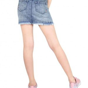 Tractr Denim Skirt