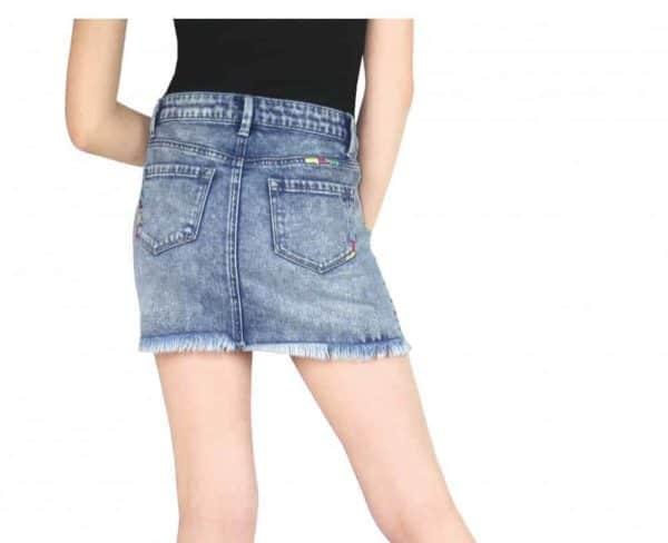 Tractr Denim Skirt