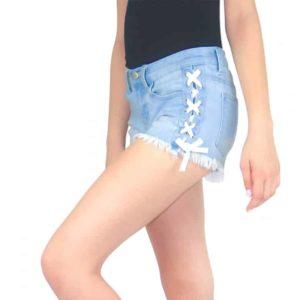 Tractr Girls Denim Shorts