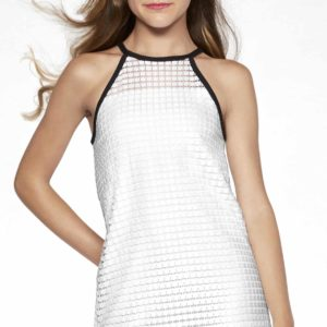 Tween White Dress