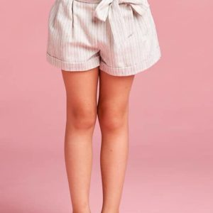 Tween Side Tie Shorts