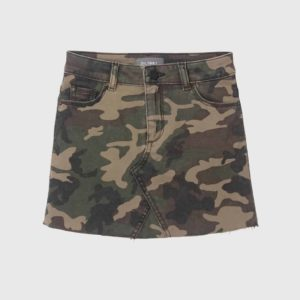 Girls DL1961 Camo Skirt