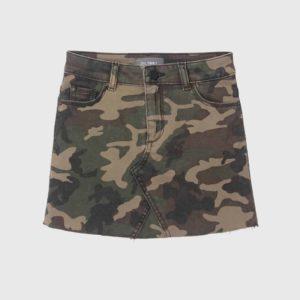 Girls DL1961 Camo Skirt