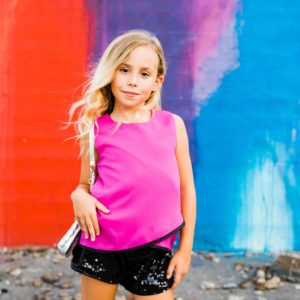 Mia New York Sequin Short