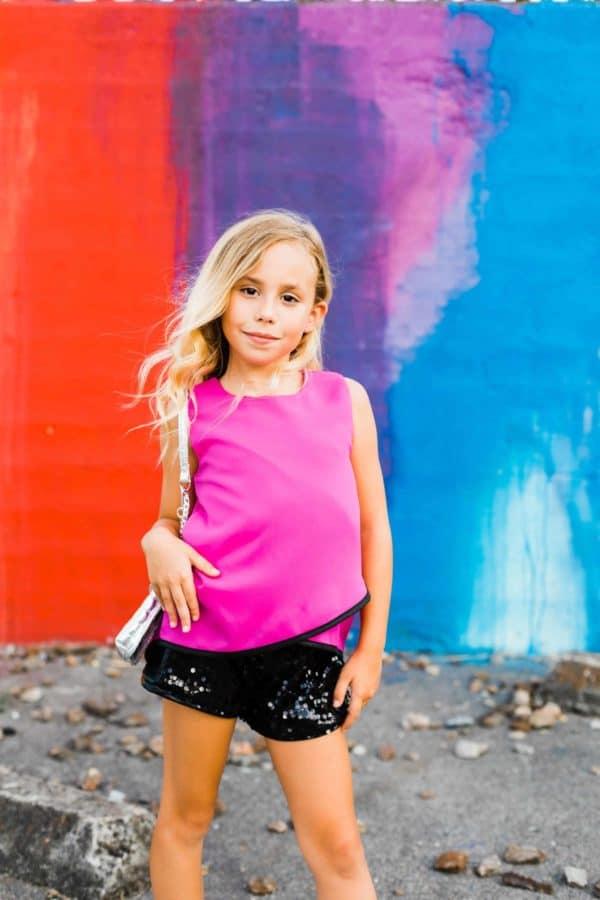 Mia New York Sequin Short
