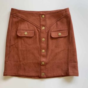 Tween Faux Suede Skirt