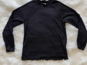 Tween Black Top