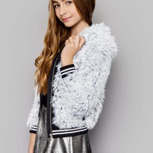 Tween Faux Fur Jacket