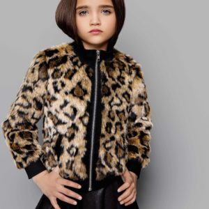 Tween Leopard Jacket