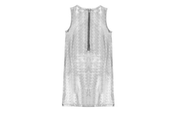 Tween Silver Dress