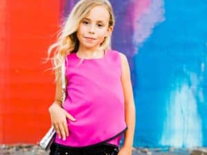Tween Sequin Short