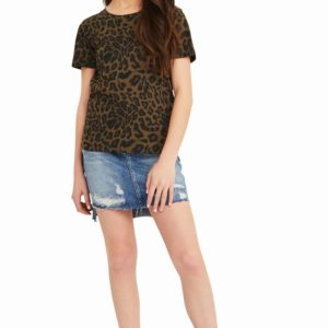 Habitual Girl Leopard Tee