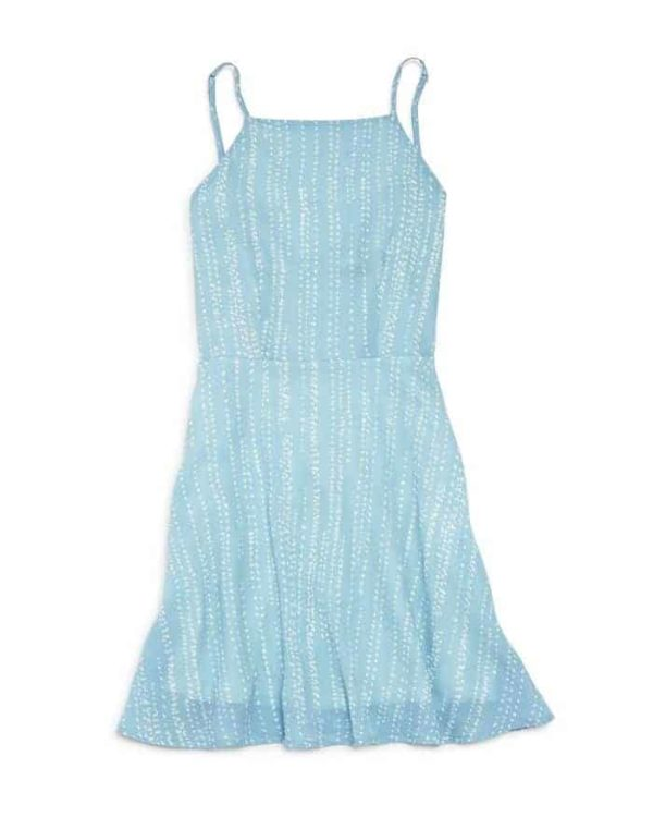Miss Behave Girls Blue Dress