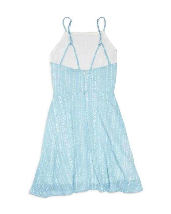 Miss Behave Girl Blue Dress