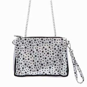 Bari Lynn Star Bag Silver