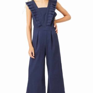 Habitual Girl Pleated Jumpsuit