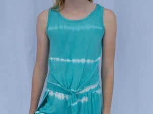 Haven Girl Arctic Tie-Dye Tank