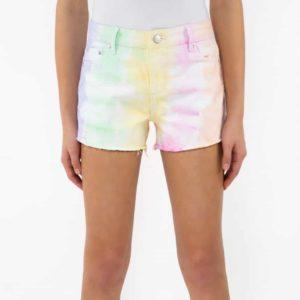 Girls Tractr Tie-Dye Shorts