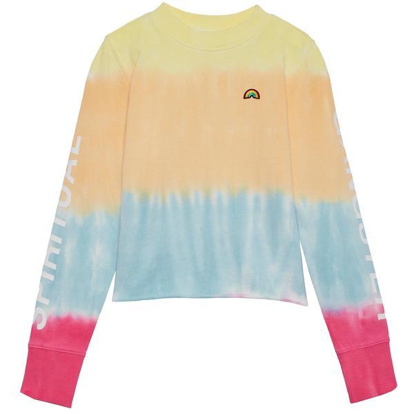 Spiritual Gangster Tie-Dye Sweatshirt