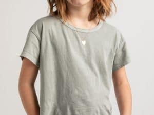 Girls Z Supply Tee Sage Mist