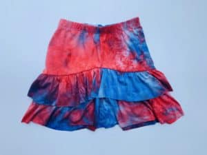 GirlsTie Dye Skirt