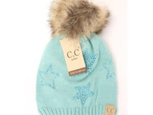 Kids CC Beanie Star Mint