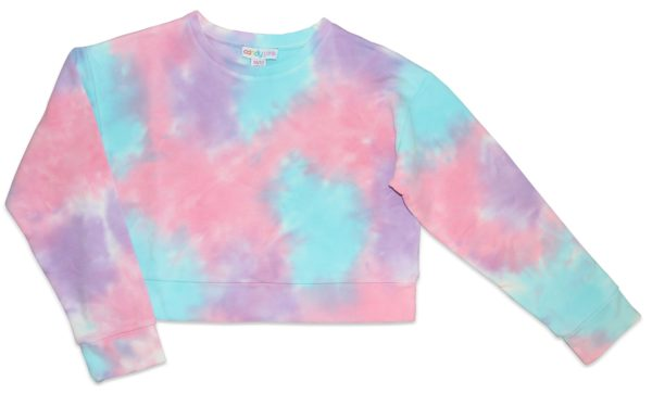 Candy Pink Girls Sweatshirt