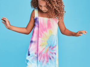 Iscream Tie Dye Spa Wrap
