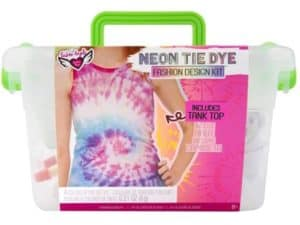 Neon Tie Dye Kepper in Crate