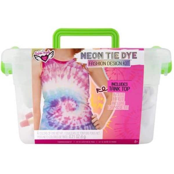 Neon Tie Dye Kepper in Crate