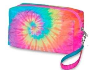 Tie Dye Pastel Cosmetic Bag