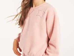Z SUpply Girls Fleece Top