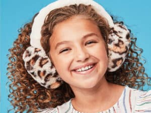 Iscream Leopard Furry Earmuffs