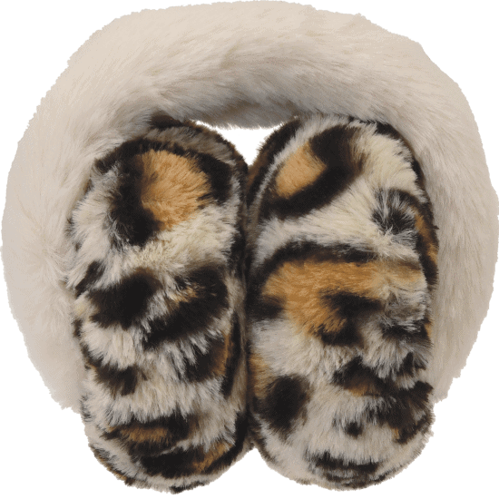 Iscream Leopard Furry Earmuffs