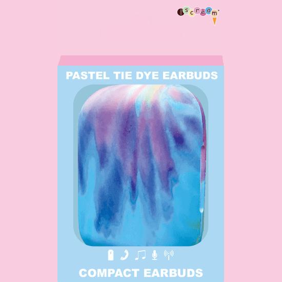 Iscream Tie Dye Earbuds