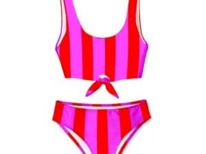 Stella Cove Candy Stripe 2pc Swimsuit