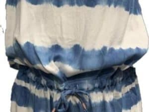 Vintage Havana Chambray Tie Dye Romper