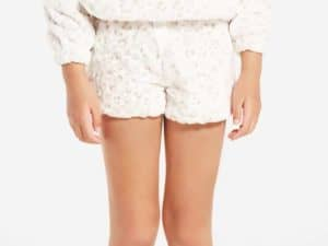 Z Supply Girls Leopard Short