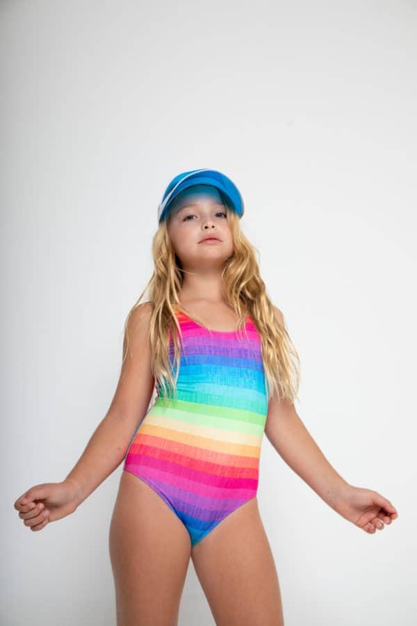 Stella Cove Rainbow Swimsuit