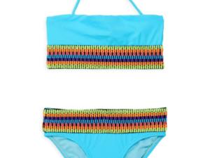 Girls Peixoto Kirra Turquise Swimsuit
