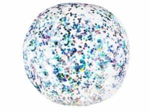 Pool Candy Glitter Beach Ball