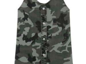 DL1961 Girls Ellis Dress Sage Camo