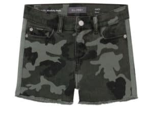 DL1961 Girls Sage Camo Short