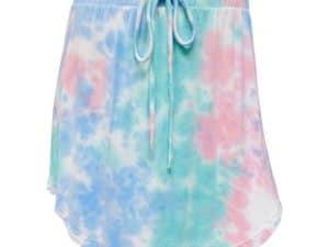 Erge Tie Dye Mid Skirt Hope