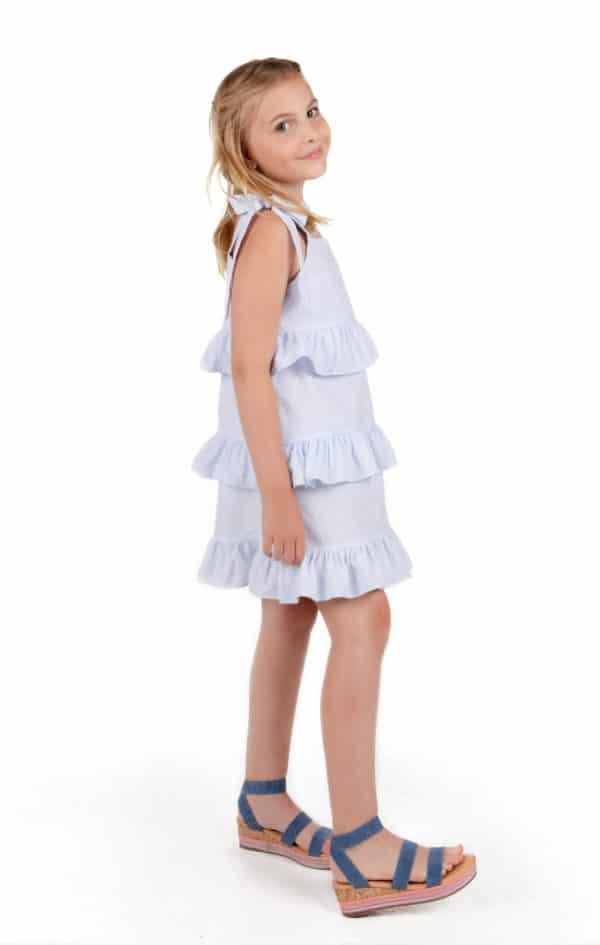 Gabby Seersucker Party Dress