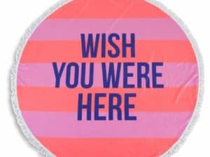 Shade Critters Wish You were here towel