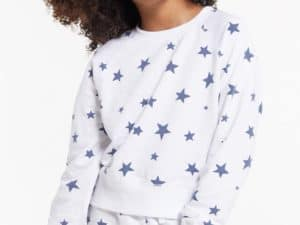 Z Supply Girls Ivy Star Pullover