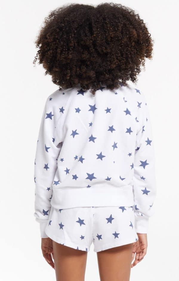 Z Supply Girls Ivy Star Pullover