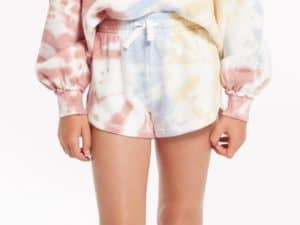 Z Supply Girls Mia Tye Dye Short