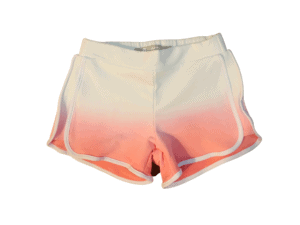 Girls Tractr Orange Shorts